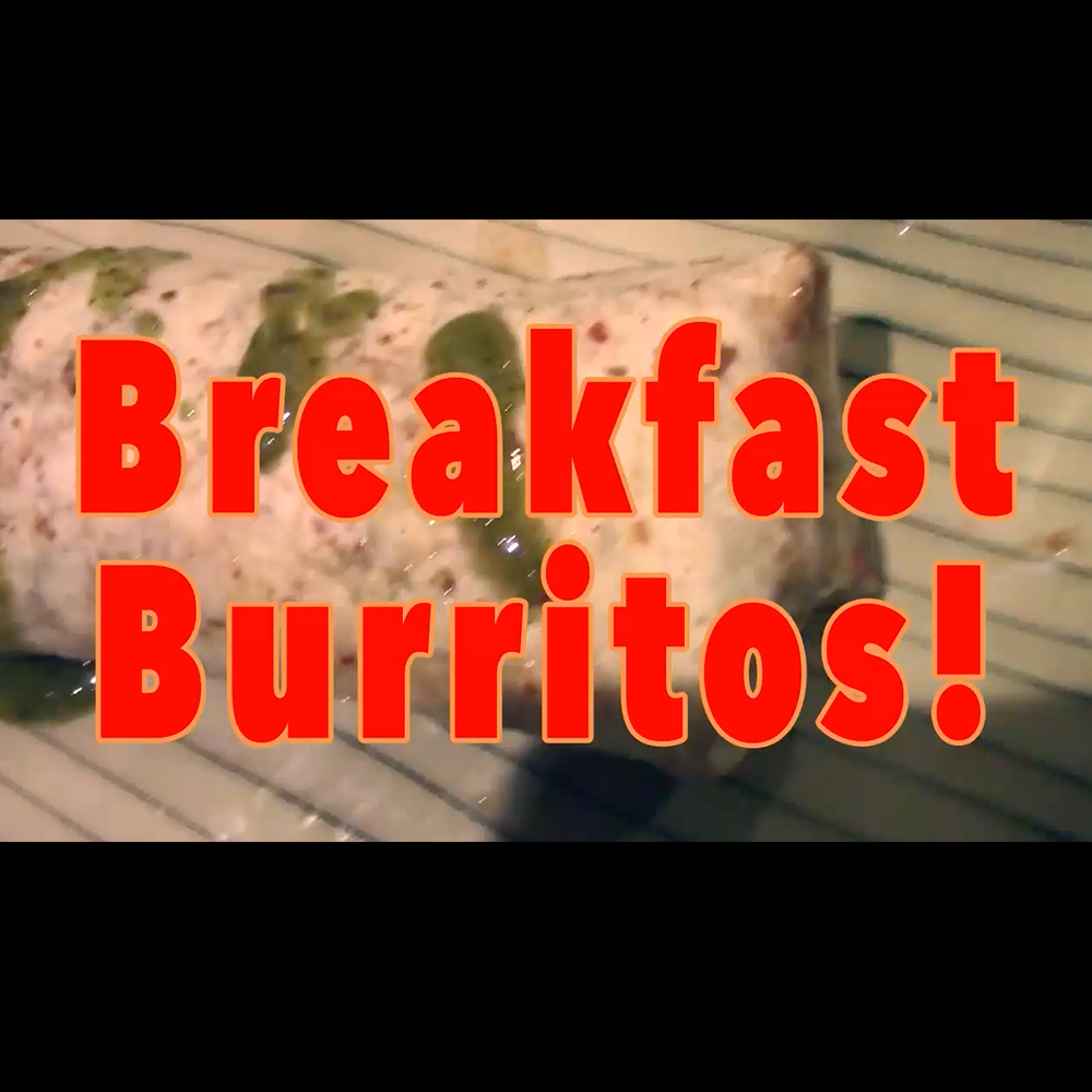 Breakfast burrito part2