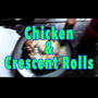Let's get high and make breakfast   chicken and crescent rolls square